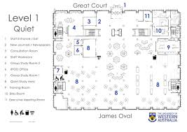 reid library floor plans university library the university of ground floor first floor