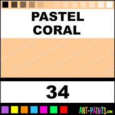 pastel coral art supplies encaustic wax beeswax paints 34