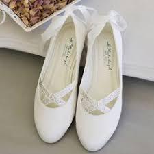 ballerine blanche mariage chaussure mariage ivoire ou blanche en satin à bout rond talon 6