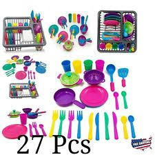 Kids Play Kitchen Accessories by Play Dishes Ebay
