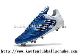 fuãÿballschuhe selbst designen shop fussballschuhe adidas copa 17 1 fg blau schwarz weiß