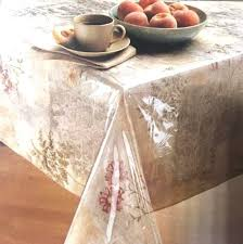 clear vinyl table protector clear vinyl tablecloth heavy plastic protector table cover assorted