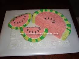 Watermelon Cake Decorating Ideas 87 Best Cakes I Want To Make Images On Pinterest Desserts