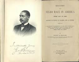 Title page  The Negro Race in America by George Washington Williams