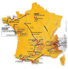 Tour De France Map by Tour De France 2011 Pes Stats Database