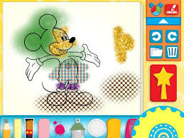 mickey mouse clubhouse coloring pages let kids paint and play