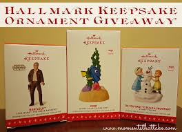 moments that take my breath away hallmark keepsake ornaments