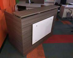 Espresso Reception Desk Dfs Designs Reception Desk Shell Which Fits A 15