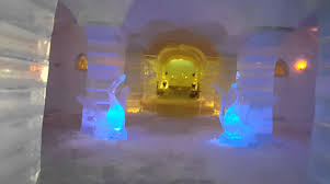 norway northern lights hotel ice hotel norway northern lights youtube