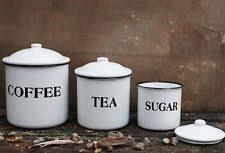 creative co op enamel kitchen canisters u0026 jars ebay