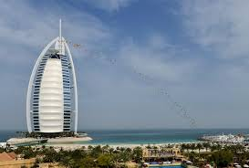 Burj Al Arab by Nick Jacobsen Jumps From The Burj Al Arab Cabrinha