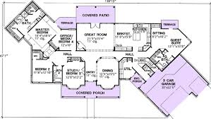 dual master suite home plans plan w31022d hill country with dual suites e architectural design