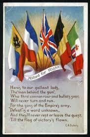Ww2 Allied Flags 200 Best World War 1 Postcards Images On Pinterest Postcards