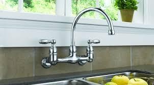 wall kitchen faucet best wall mount kitchen faucet modern kitchen 2017