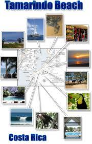 Street Map Of San Jose Costa Rica by Tamarindo Beach U0026 Langosta Free Printable Map