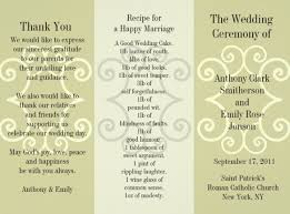 Wedding Pamphlet Template Wedding Brochure Templates Free Bbapowers Info