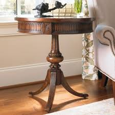 how to decorate an accent table hamilton home living room accents round accent table with ornate
