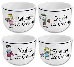 personalized bowl happy kids personalized home and family personalized stoneware