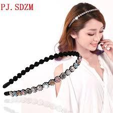 hair accessory small sun flower style rhinestone hair accessory fashion