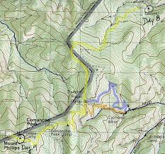philmont scout ranch map a philmont adventure day 9 through cypher s mine to mount