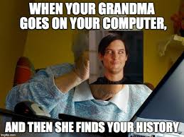 Meme For Grandmother - grandma meme computer clearview windows