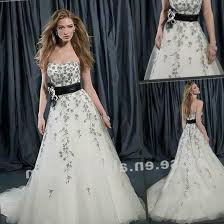 black and white wedding dress black and white wedding dresses plus size pluslook eu collection