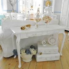 attractive shabby chic console table white shabby chic furniture