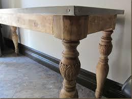 Zinc Top Bar Table Zinc Top Bar Table With Popular Of Zinc Top Bistro Table