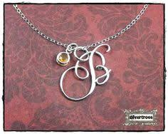 Sterling Silver Personalized Necklaces Sterling Silver Initial Necklace Wire Letters Jewellery Uk And