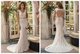wedding dresses with sash ribbon 20 v neck lace sash ribbon court trail low back backless