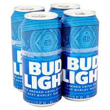 case of bud light price bud light 4x440ml tesco groceries
