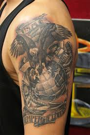75 cool usmc tattoos meaning policy and designs 2017