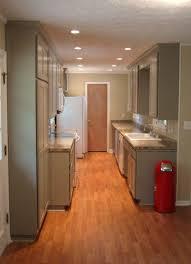lamp in kitchen best galley kitchens galley kitchen designs for