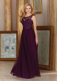 stunning tulle with embroidery bridesmaid dress style 156 morilee