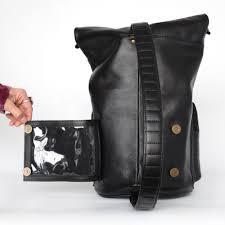 Brown Bags With Clear Window Moto Sling Bag Looptworks