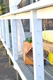 Home Depot Backyard Design Diy Cable Railing On A Restored Backyard Deck Home Depot Patio