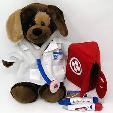 build a doctor build a doctor dog lab coat bandage syringe stethoscope