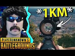 pubg 2x scope insane 1km kill with the 2x scope shroud 200iq plays pubg
