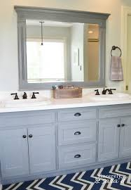 how to paint bathroom cabinets ideas bathroom painted cabinets before and after ideas terhune
