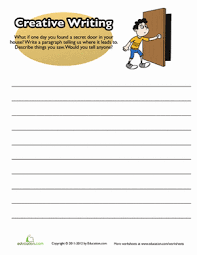 creative writing prompts 3rd grade worksheets education com
