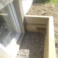 Basement Well Windows - egress windows u0026 window wells foundation works