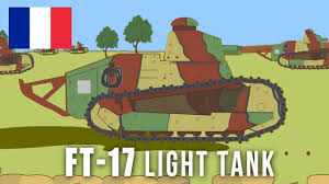 renault f1 tank wwi tanks ft 17 light tank youtube