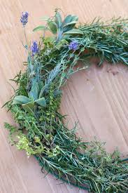herb wreath how to make a gorgeous fresh herb wreath step 6 garden therapy