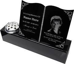 personalised gravestone markers owens personalised memorials wigan
