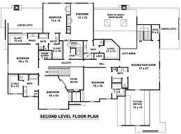 six bedroom house plans 6 bedroom single family house plans print this floor plan print