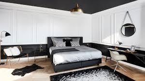 H Sta Schlafzimmer Boxspringbetten Monochrome Chic So Funktioniert Unser Look Auch Bei Ihnen