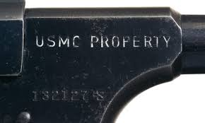 Woodsman Supply Documented Rare U S Marine Corps Property Marked Colt Woodsman