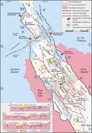 Map Of The Red Sea Control Of Extensional Transfer Zones On Syntectonic And Post