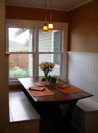 Beadboard Bench - beadboard in dining room dining room traditional with bench seat