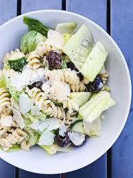 caesar pasta salad u2013 the good cooker